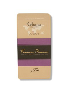 Pralus Dunkle Schokolade 75% Ghana