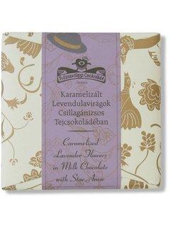 Rózsavölgyi Csokoládé Milchschokolade mit Lavendel und Sternanis