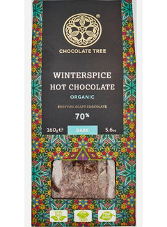 Chocolate Tree Bio-Trinkschokolade Hot Chocolate Winterspice 70%