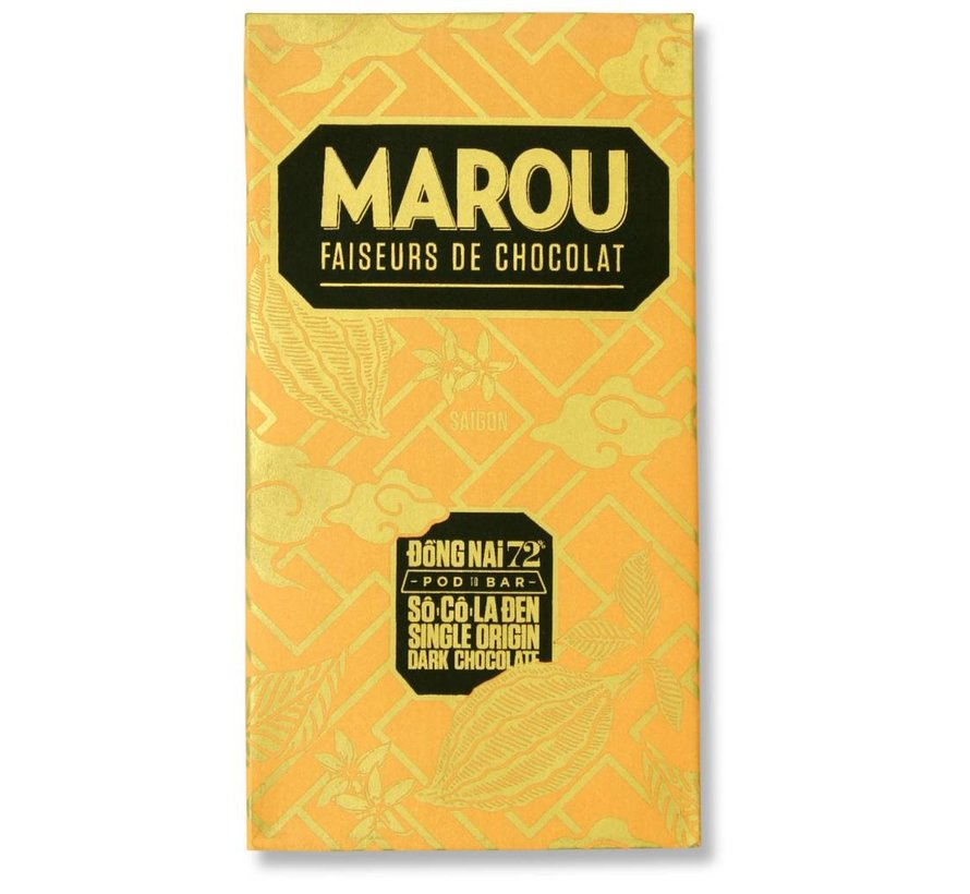 Dunkle Schokolade 72% Dong Nai
