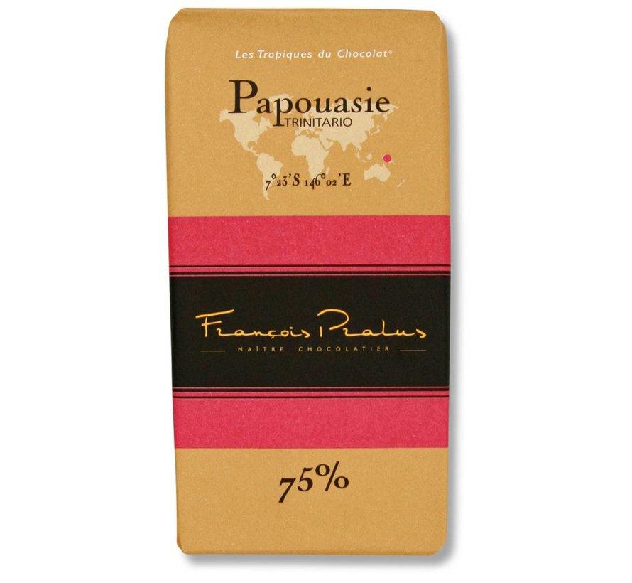 Dunkle Schokolade 75% Papouasie