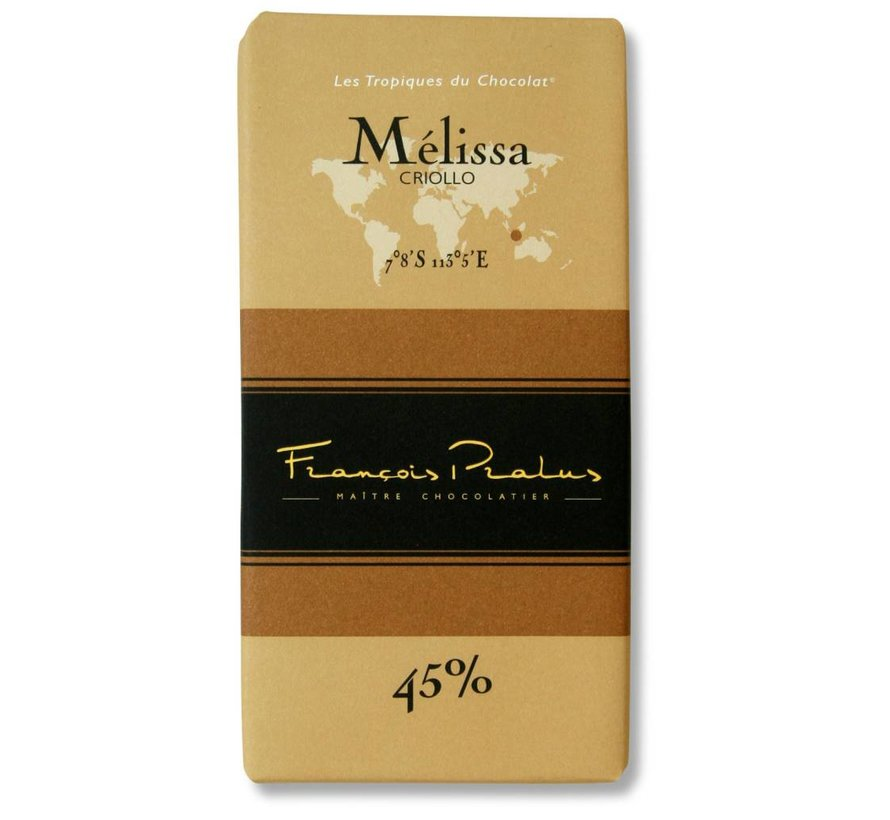 Milchschokolade 45% Melissa