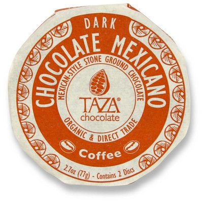 Taza Chocolate Dunkle Bio-Schokolade 55% Coffee