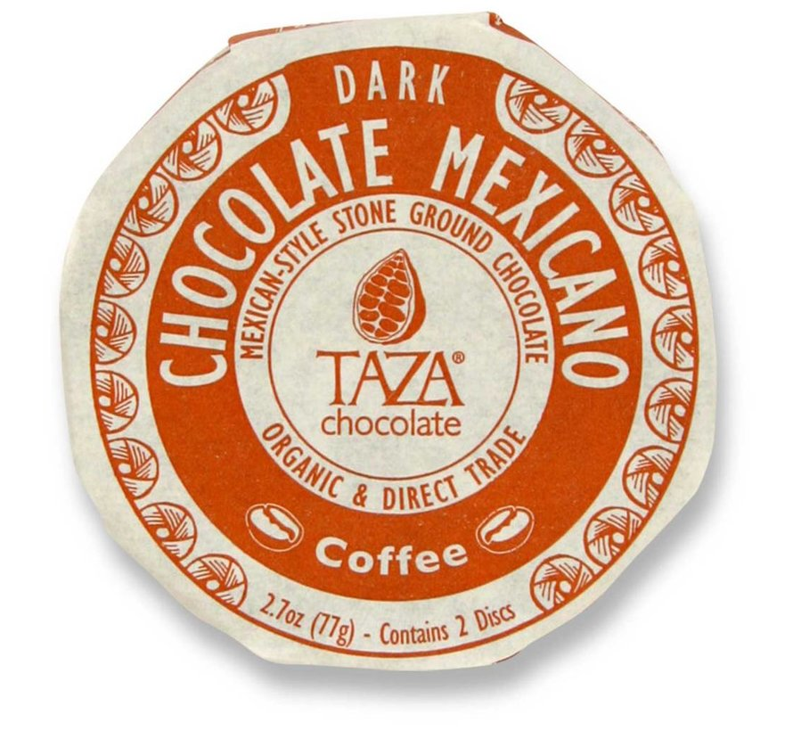 Dunkle Bio-Schokolade 55% Coffee