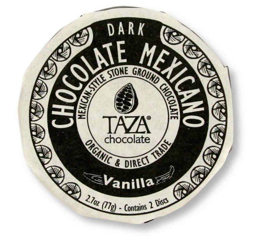 Dunkle Bio-Schokolade 50% Vanilla