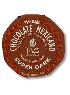 Taza Chocolate Dunkle Bio-Schokolade 85% Stone Ground