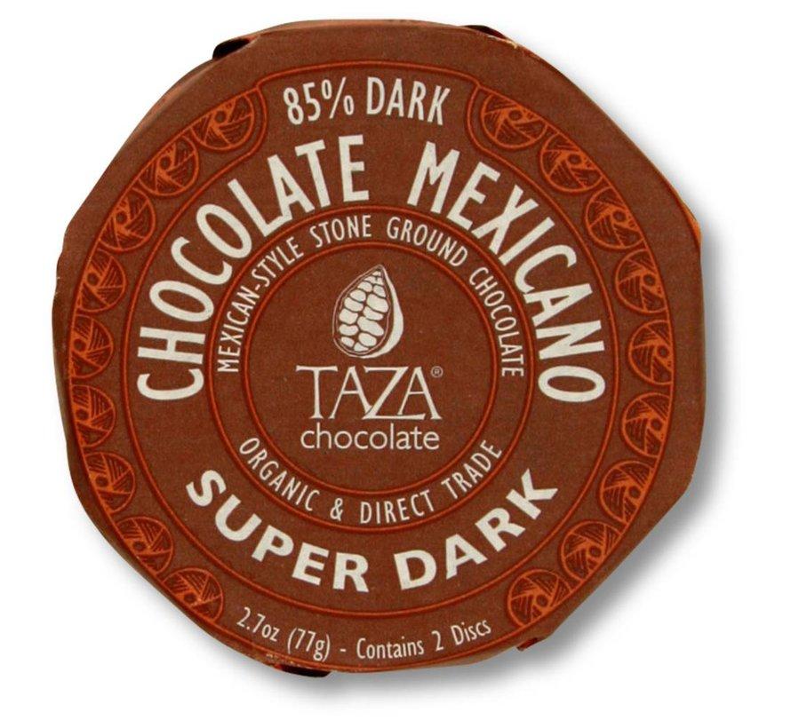 Dunkle Bio-Schokolade 85% Stone Ground