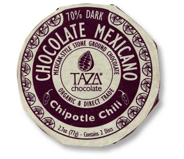 Taza Chocolate Dunkle Bio-Schokolade 50% Chipotle Chili