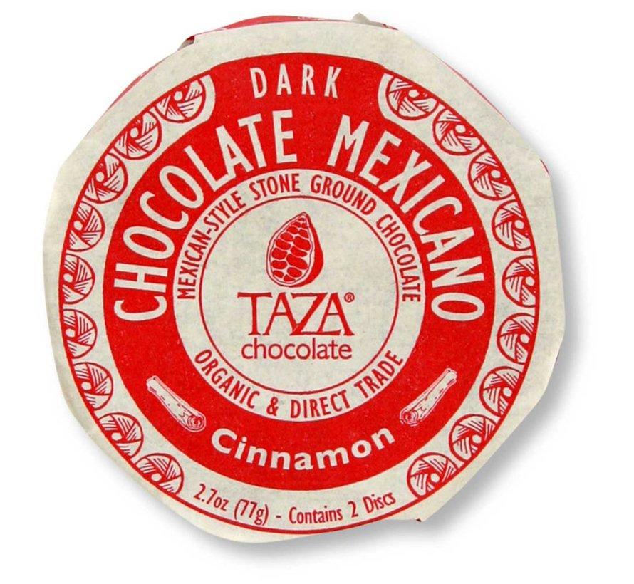 Dunkle Bio-Schokolade 50% Cinnamon