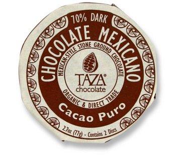 Taza Chocolate Dunkle Bio-Schokolade 70% Cacao Puro