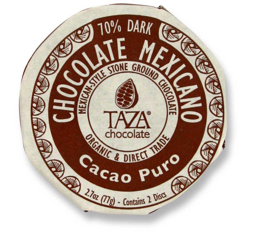Dunkle Bio-Schokolade 70% Cacao Puro
