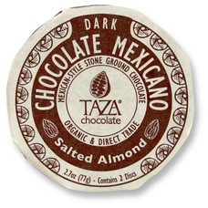 Taza Chocolate Dunkle Bio-Schokolade 40% Salted Almonds