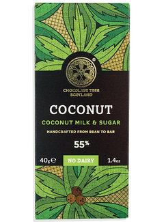 Chocolate Tree Bio-Kokosmilch-Schokolade