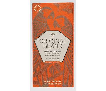 Original Beans Dunkle Schokolade 66% Beni Wild Harvest