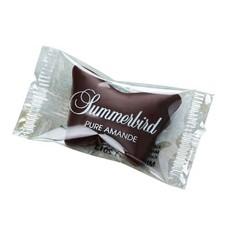 Summerbird Bio-Marzipan mit dunkler Schokolade als Schmetterling
