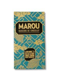 Marou Dunkle Schokolade 74% Lam Dong