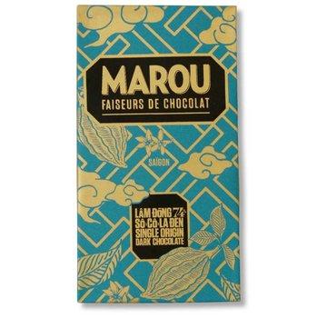 Marou Dunkle Schokolade Lam Dong 74%