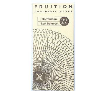 Fruition Chocolate Works Dunkle Schokolade Domenican Los Bejuchos 77%