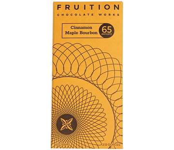 Fruition Chocolate Works Milchschokolade Cinnamon Maple Bourbon 65%