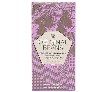 Original Beans Bio-Milchschokolade Femmes de Virunga 55%