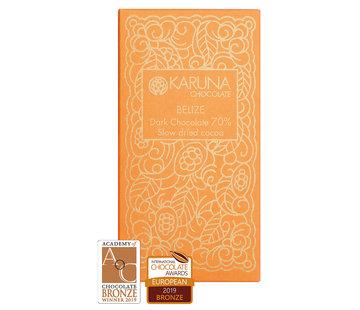Karuna Chocolate Dunkle Bio-Schokolade 70% Slow dried Belize
