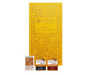 Karuna Chocolate Dunkle Bio-Schokolade  70% Belize