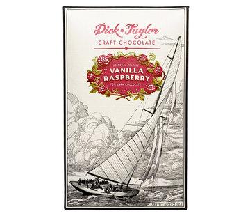 Dick Taylor Dunkle Schokolade Vanilla Raspberry 72%
