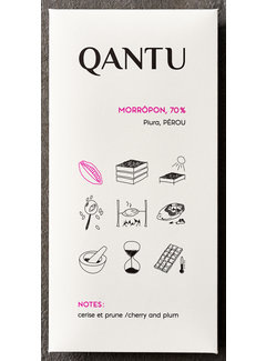 Qantu  Dunkle Schokolade 70% Morropón