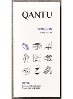 Qantu  Dunkle Schokolade 70% Chaska