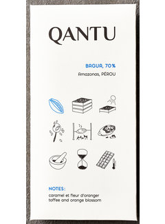 Qantu  Dunkle Schokolade 70% Bagua