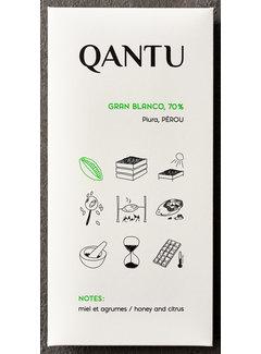Qantu  Dunkle Schokolade 70% Gran Blanco