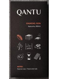 Qantu  Dunkle Schokolade 100% Chuncho
