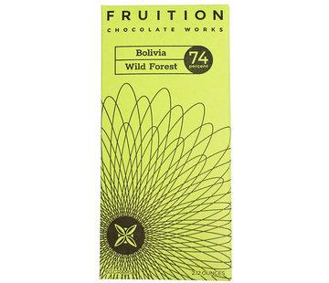 Fruition Chocolate Works Dunkle Schokolade Bolivia Wild Forest 74%
