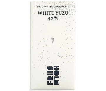 Friis-Holm Chocolade Weiße Schokolade White Yuzu 40%