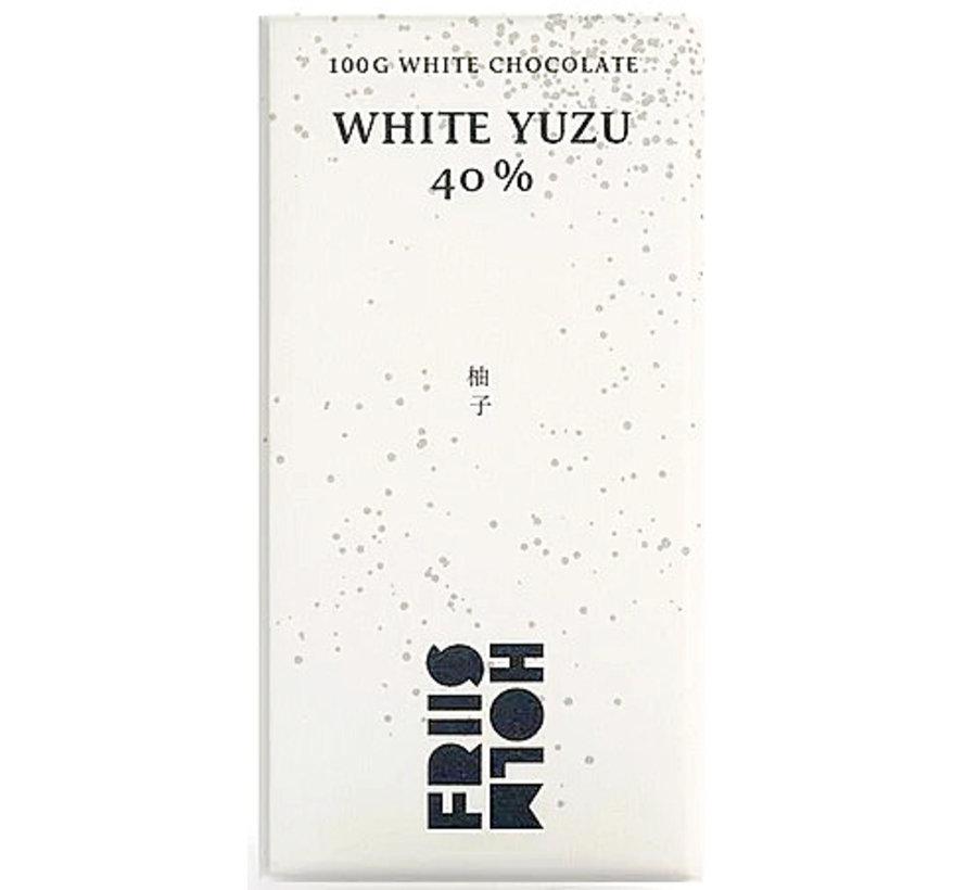 Weiße Schokolade White Yuzu 40%