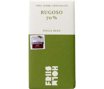Friis-Holm Chocolade Dunkle Schokolade Rugoso 70%