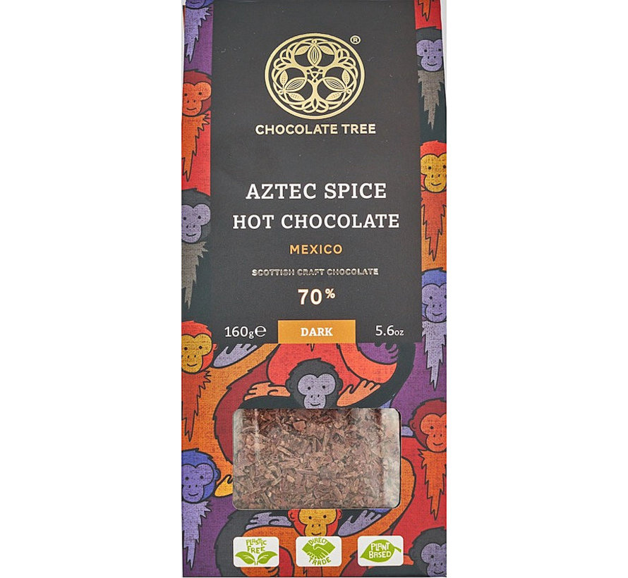 Bio-Trinkschokolade 70% Aztec Spice