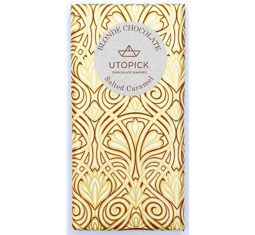 Weiße Schokolade Salted Caramel
