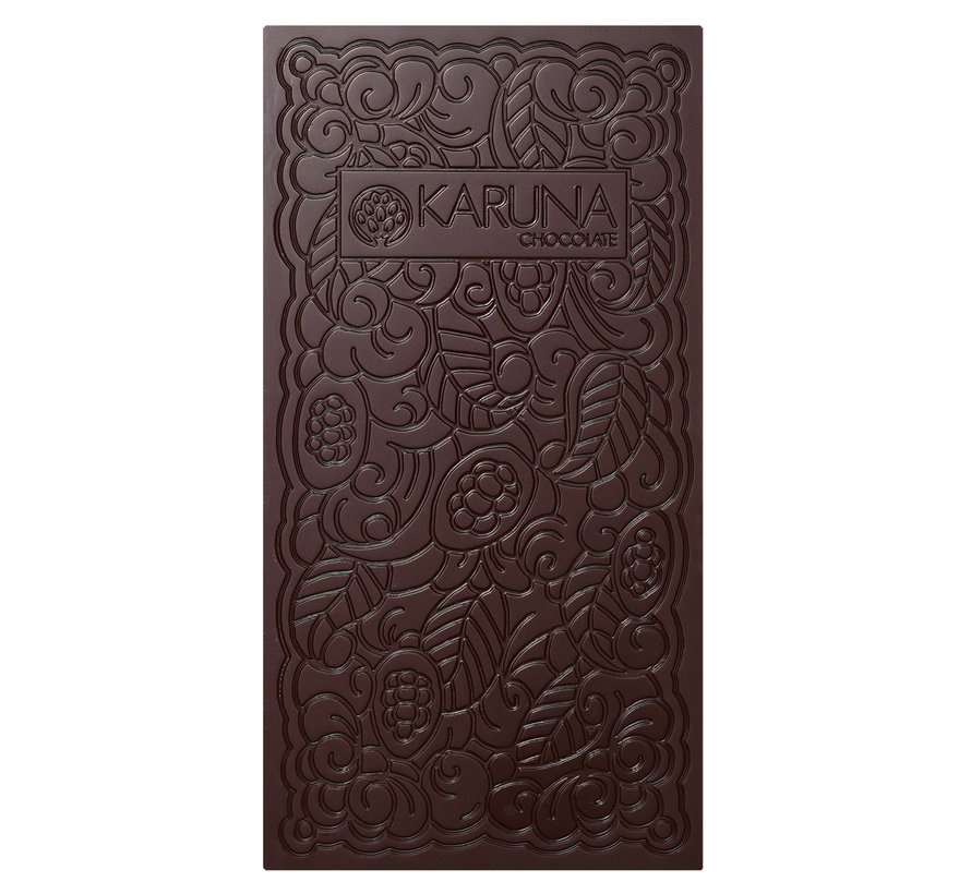 Dunkle Bio-Schokolade 100% Peru Urubamba Valley