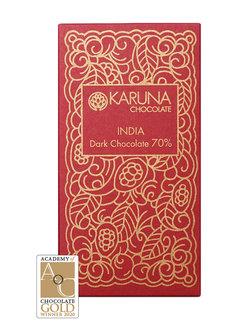 Karuna Chocolate Dunkle Bio-Schokolade 70%  Kerala, India