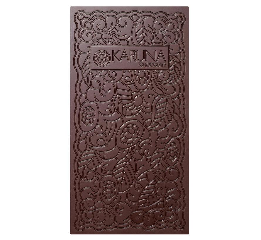 Dunkle Bio-Schokolade 70%  Kerala, India