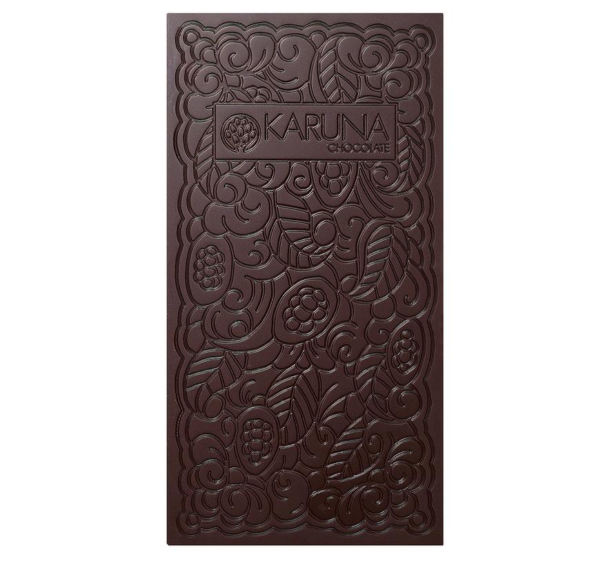 Dunkle Bio-Schokolade  80% Dominican Republik