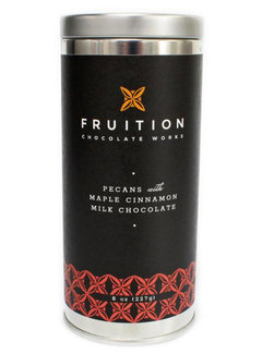 Fruition Chocolate Works Pecans with Maple Cinnamon Milk Chocolate