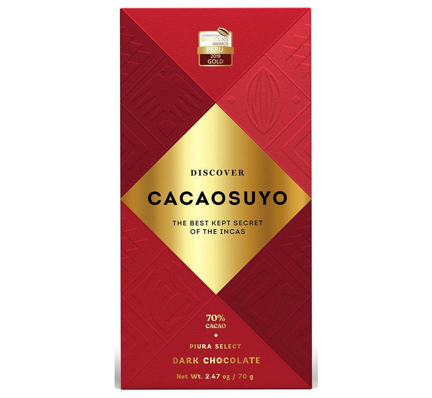 Dunkle Schokolade Piura Select 70%
