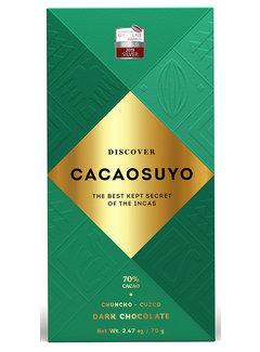 Cacaosuyo Dunkle Schokolade Chuncho-Cusco 70%