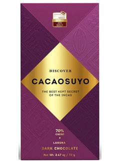 Cacaosuyo Dunkle Schokolade Lakuna 70%