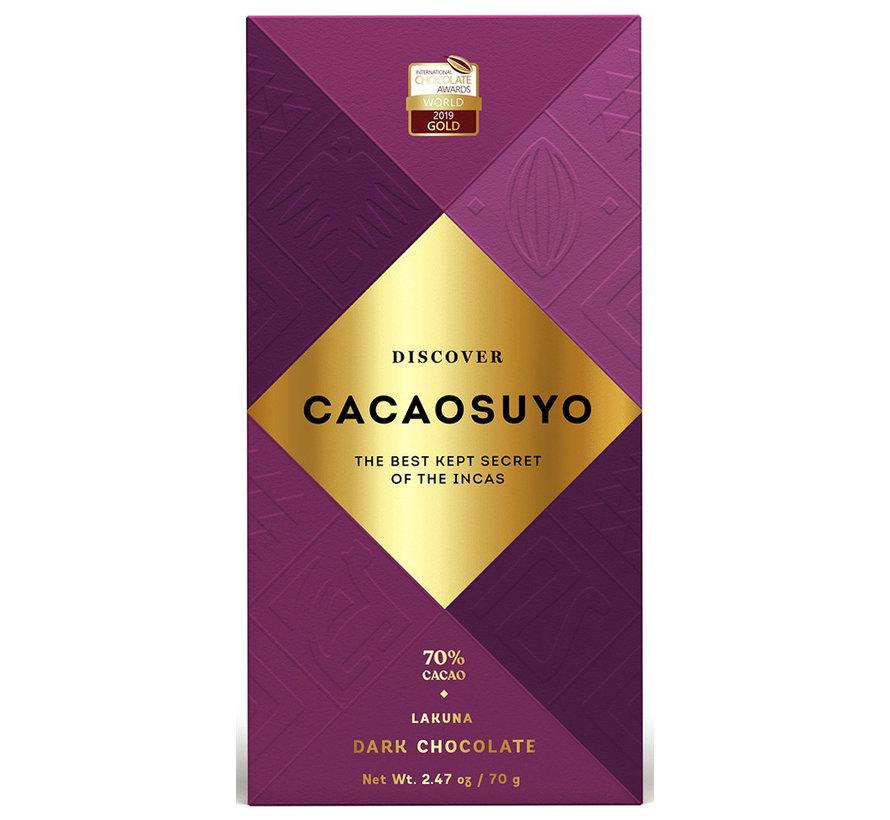 Dunkle Schokolade Lakuna 70%