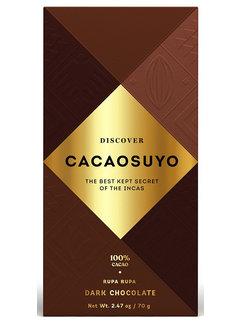 Cacaosuyo Dunkle Schokolade Rupa Rupa 100%