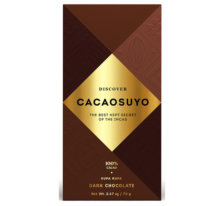 Dunkle Schokolade Rupa Rupa 100%