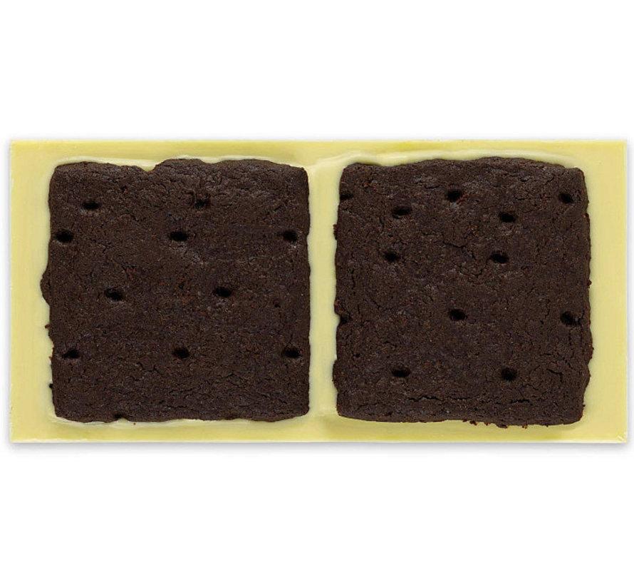 Weiße Schokolade Cookies + Cream